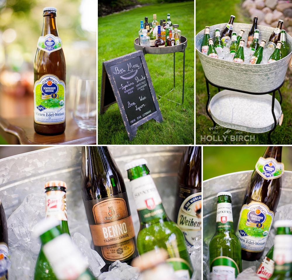 german and austrian beer assortment