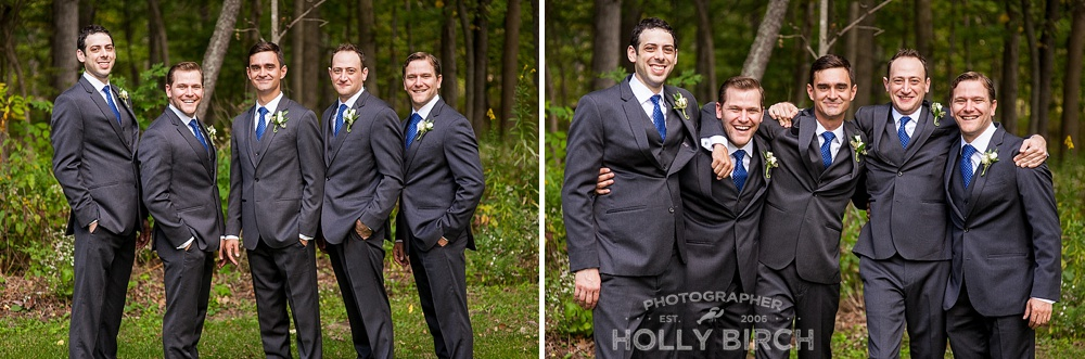 groomsmen group photos