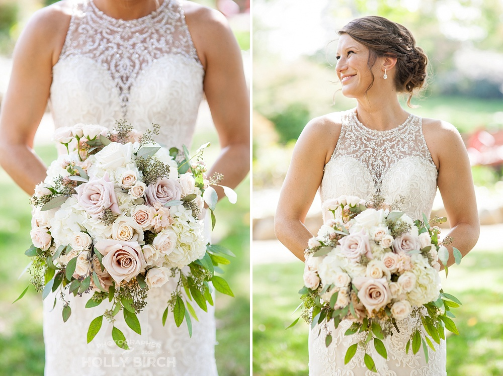 bridal bouquets by Blossom Basket