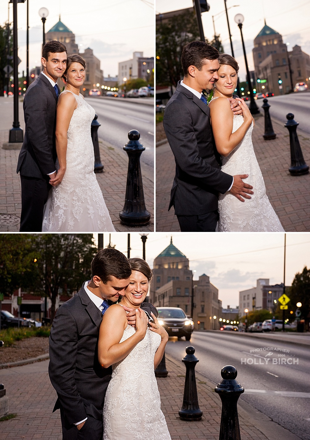 Downtown Champaign wedding photos