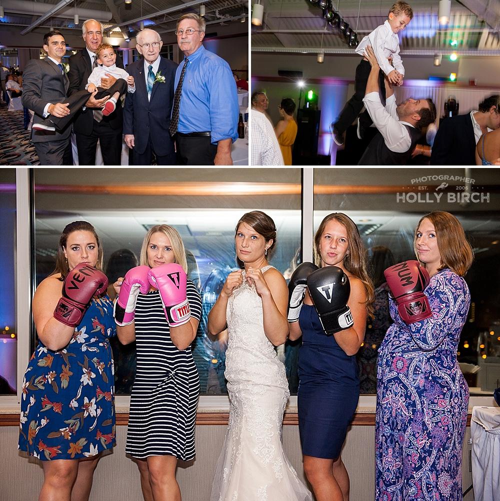 generation photo and boxing wedding photo