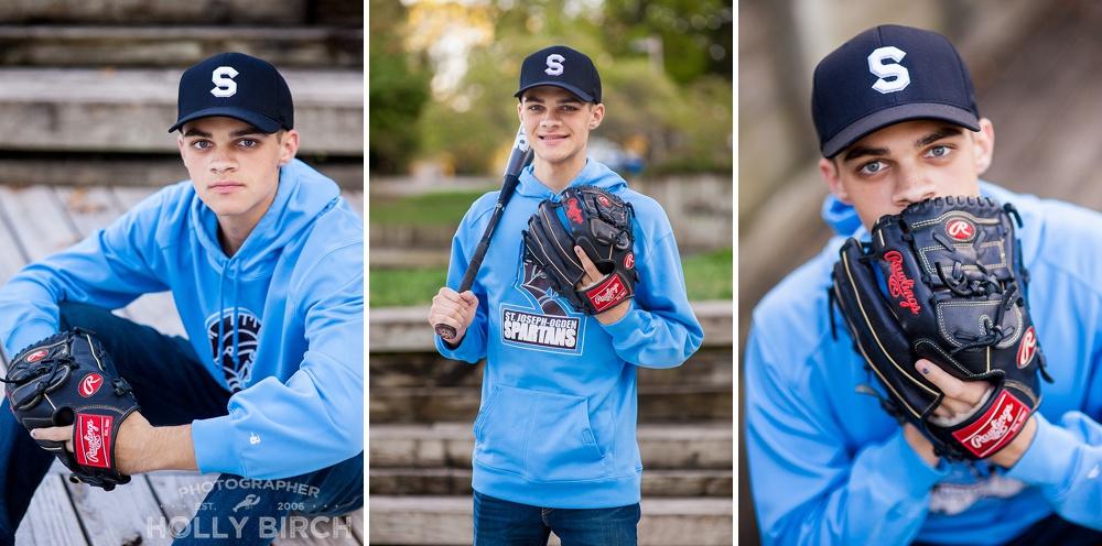 senior SJO baseball player
