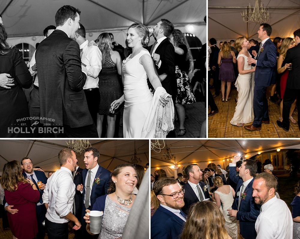 bride and groom candid dancing shots