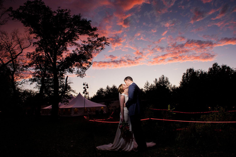 Karen sam backyard bbq wedding at prairie glass house urbana