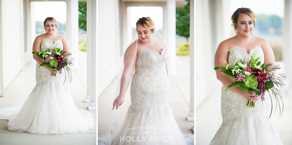wedding gown looks for Holly Birch Photography