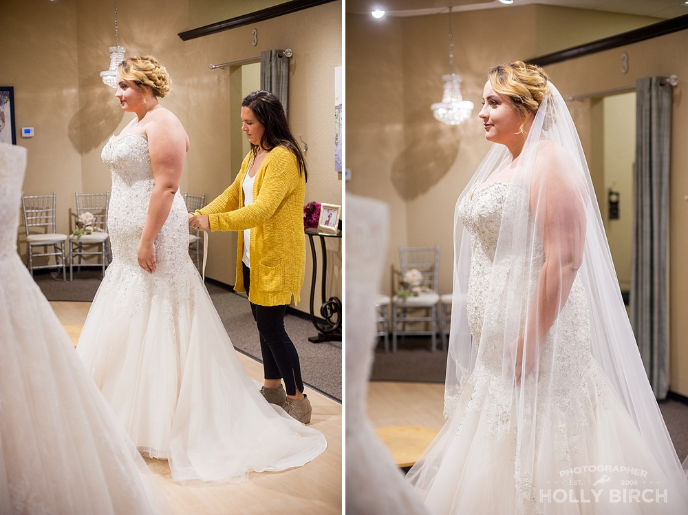 meet your bridal stylist at Michelle's Bridal
