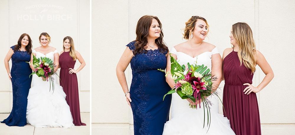 deep colored wedding looks