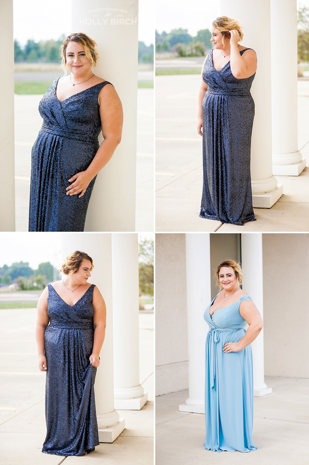 plus-sized bridesmaid dress inspriation