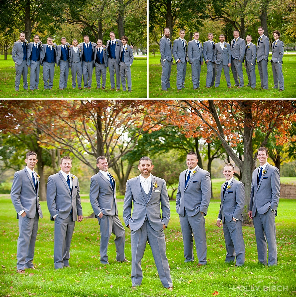 groomsmen dressed by Michelle's Bridal