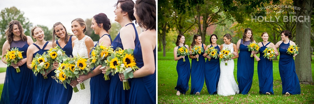 fun laidback bridesmaid photos