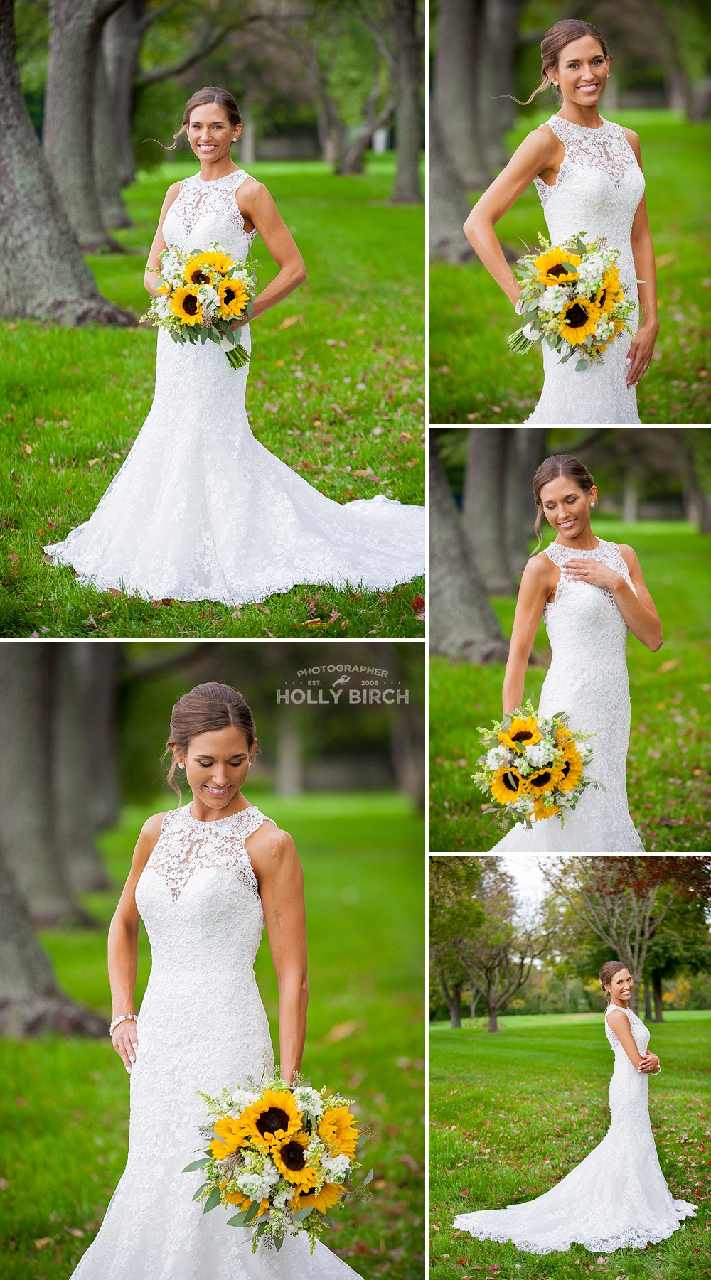 bridal gown by Michelle's Bridal