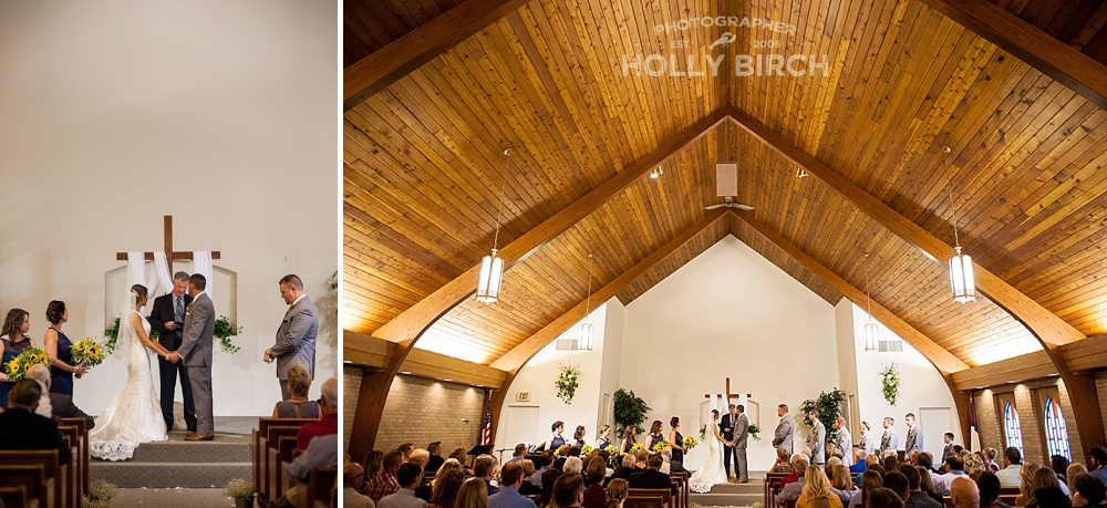 wedding at Stratford Park Bible Chapel