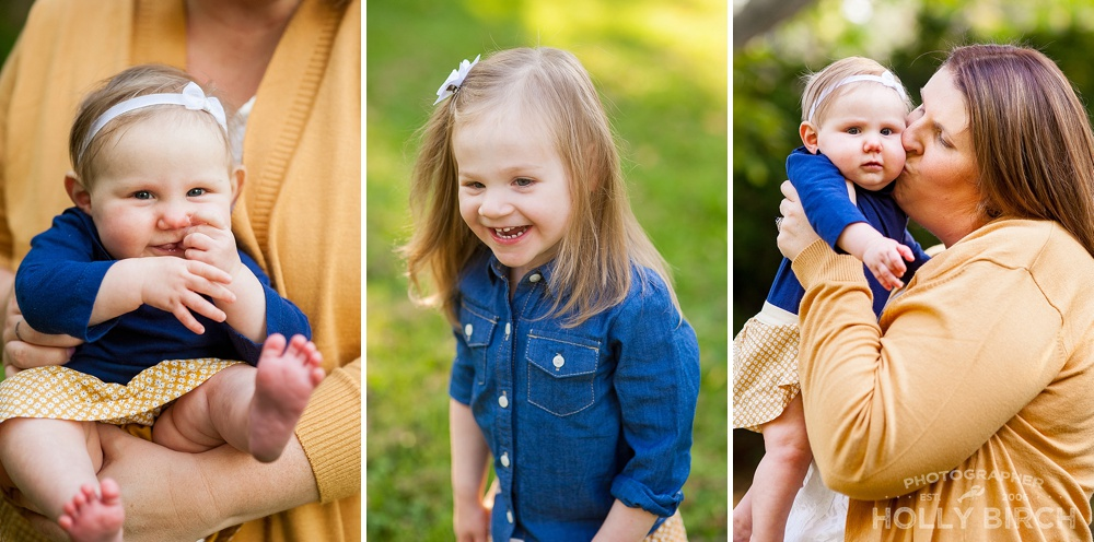 fall colors for family photos
