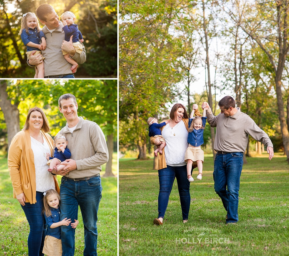 what to wear for fall family photos