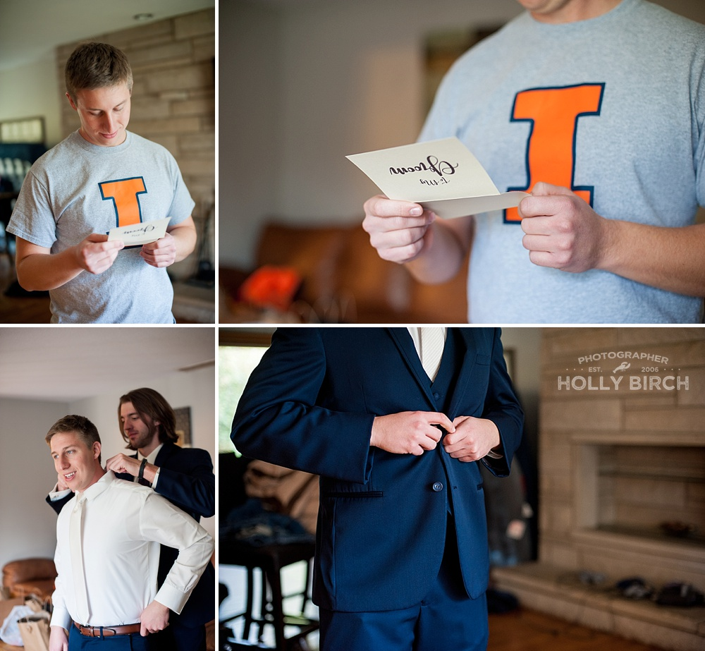 groom ready letter from bride