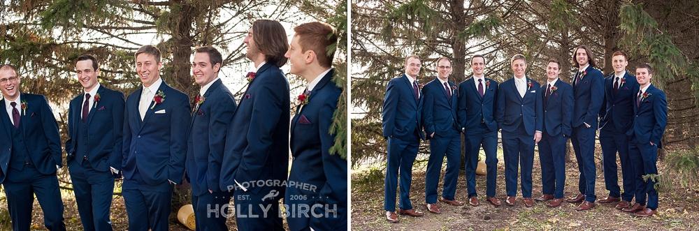 dapper looking groomsmen