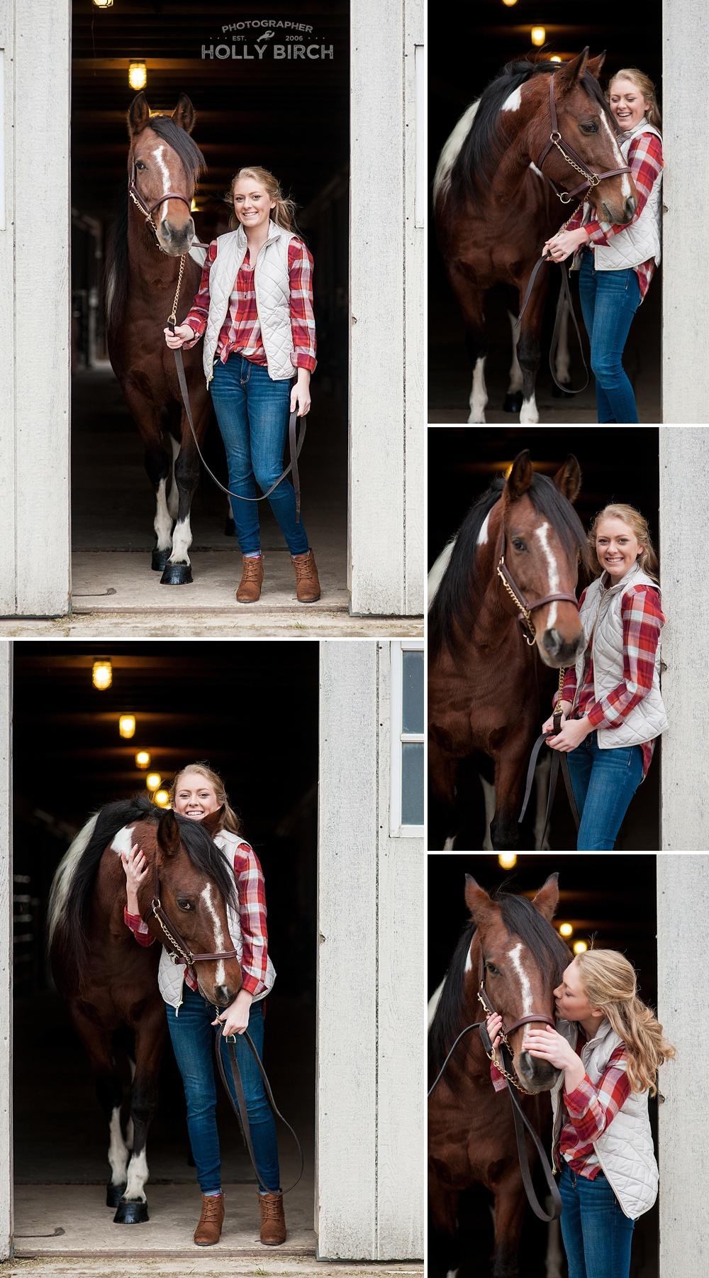 Meg's Riding Academy Tolono senior pics