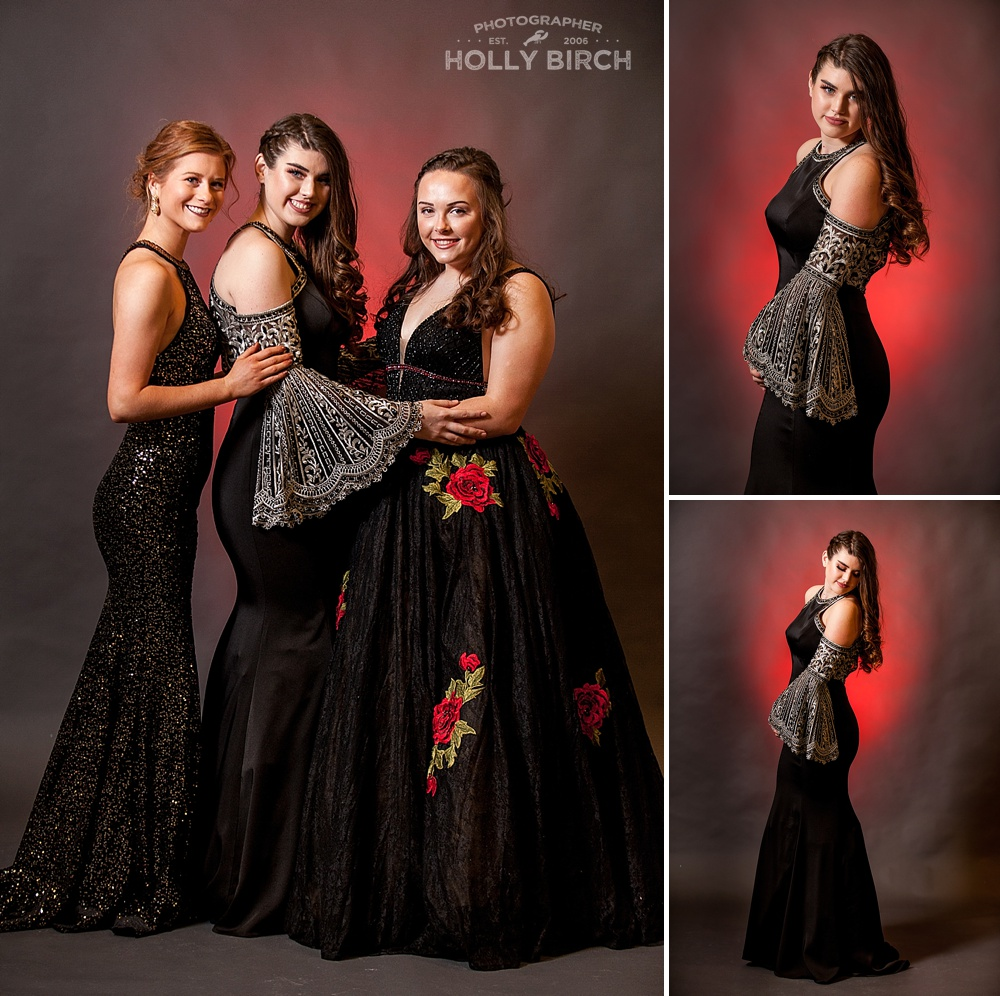 black prom dress gowns from M2 Urbana