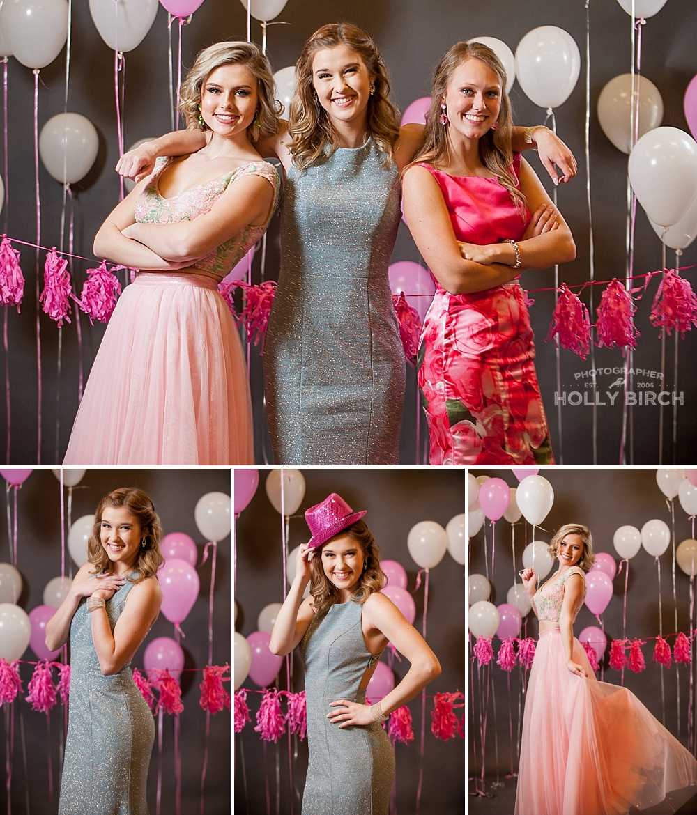 pink gray prom dress styles