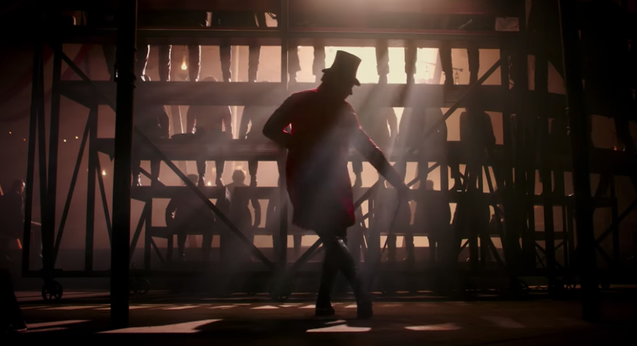 Another shot from The Greatest Showman's opening scene that immediately drew me in with the sawdusty-filtered light and silhouettes.  I knew from this moment, that this film would be a feast for my eyes (and ears!).