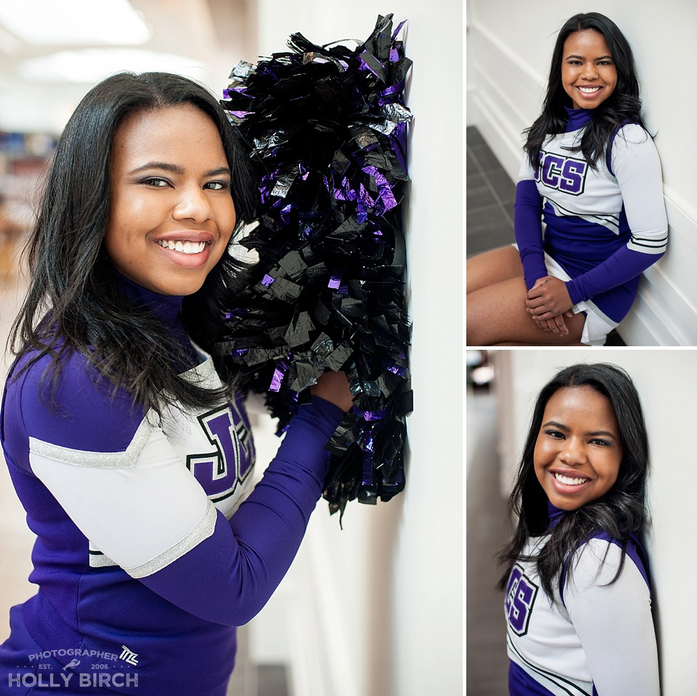 Judah senior cheerleading photos