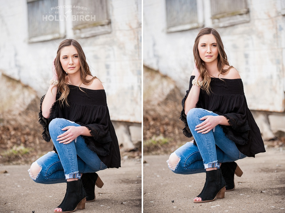 Mason County Illinois senior photo session