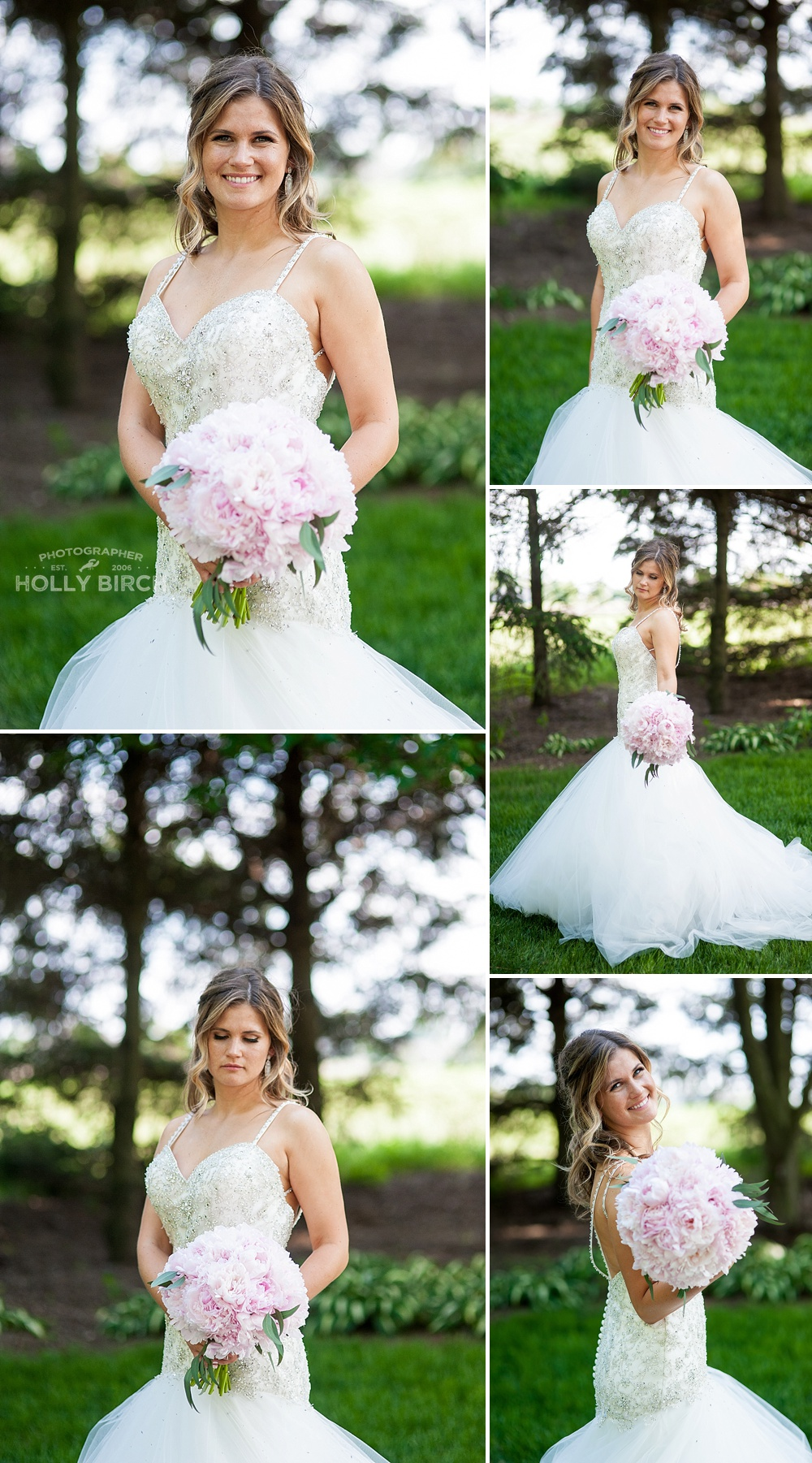 bridal poses with bouquet