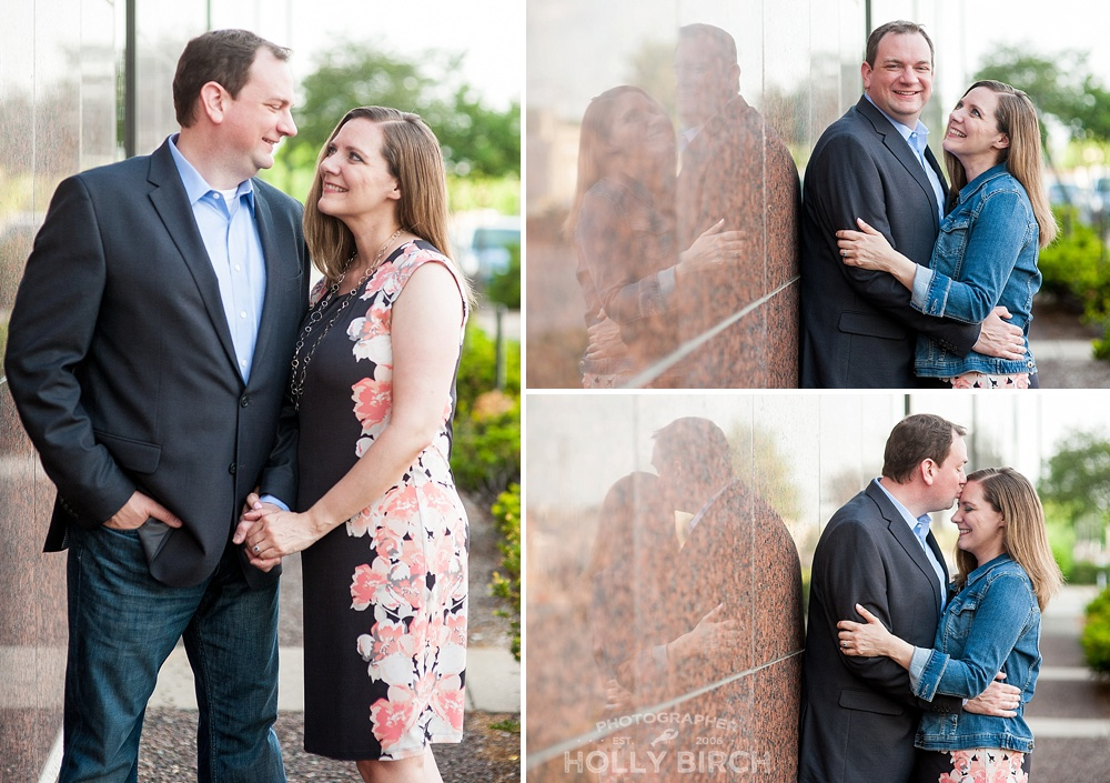 neighborhood engagement photos in Champaign
