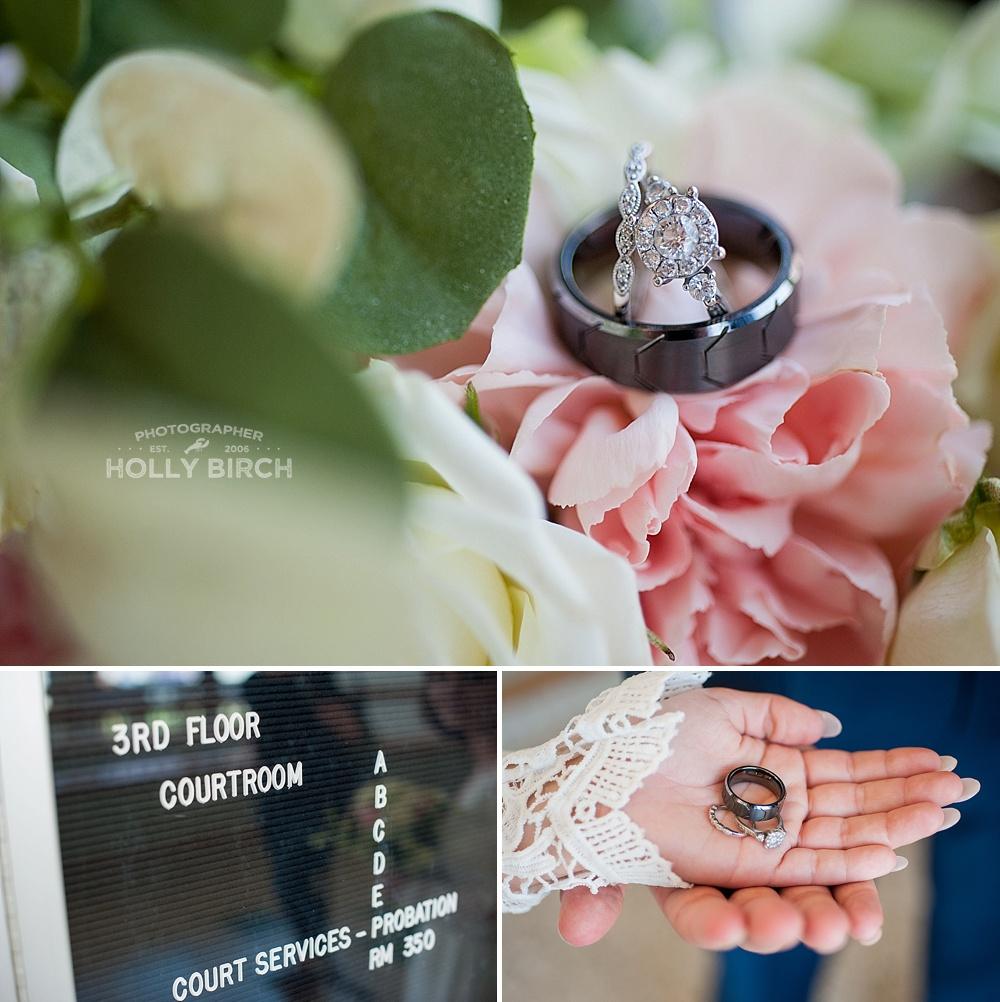 elopement wedding rings