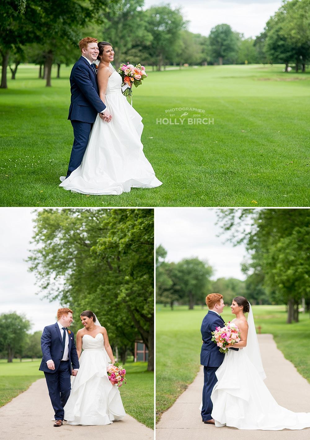 bride and groom walking poses
