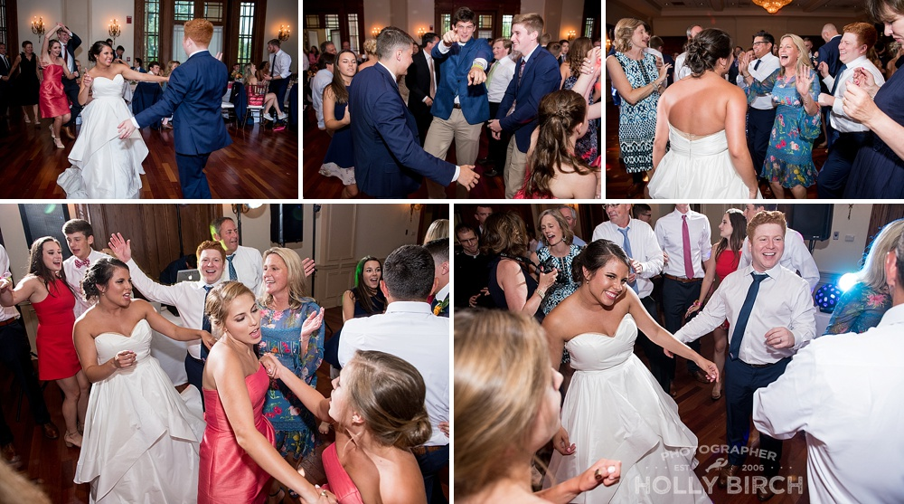 dance floor wedding night antics