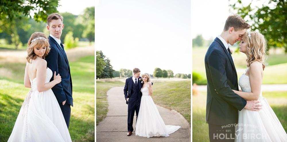 intimate bridal portraits in Urbana