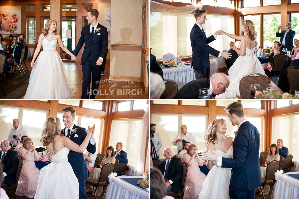 wonderful first dance as married couple