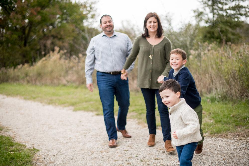 Champaign fall family mini sessions