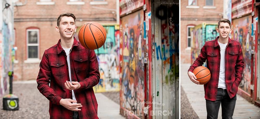 senior guy basketball player photos
