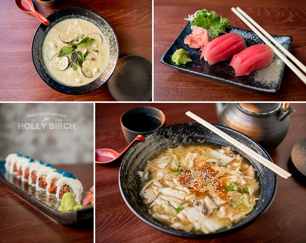 asian cuisines food photography