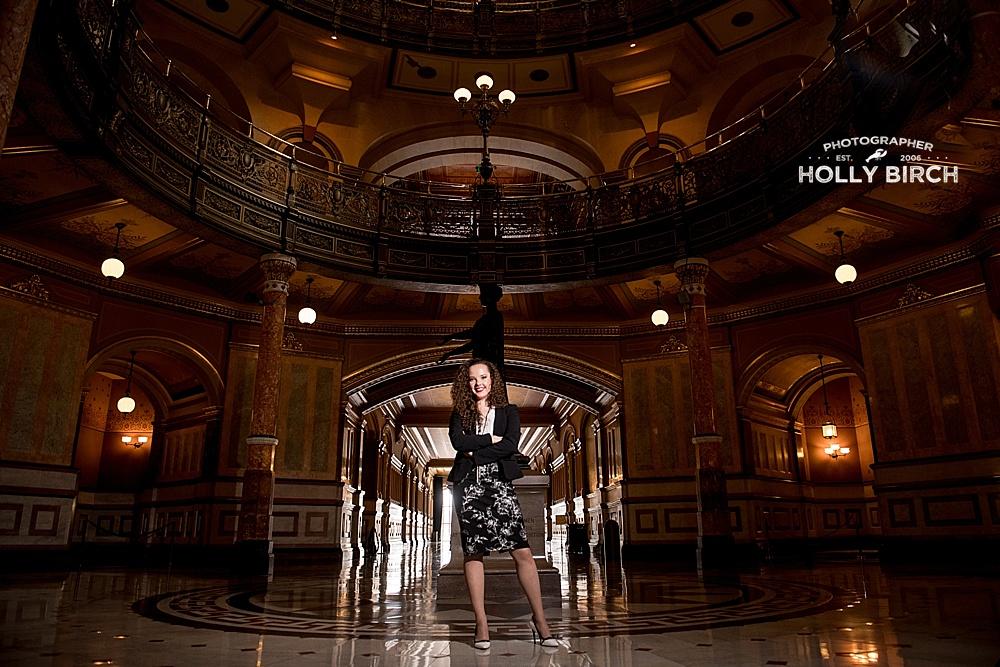 HS senior takes on the Illinois House of Representatives