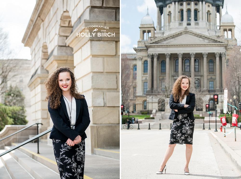 teenager making waves at Illinois capitol