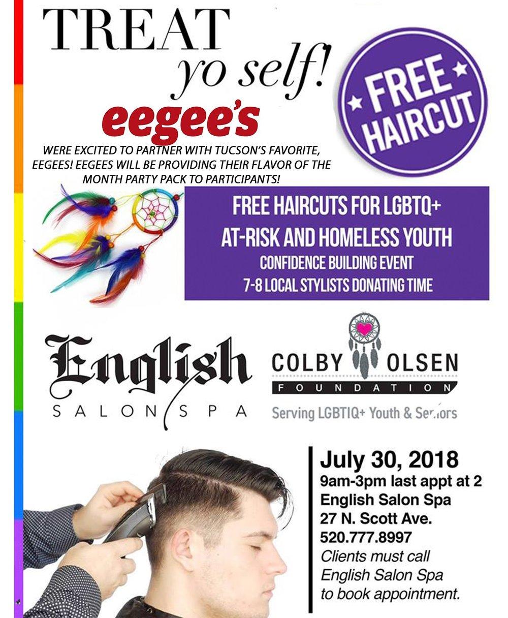 Treat Yo Self Colby Olsen Foundation