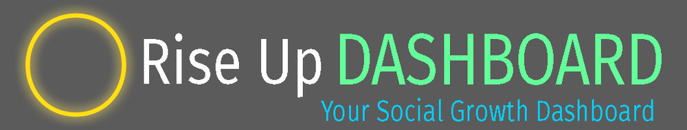 Follow your social growth with the Rise Up Dashboard from Sollevarsi Social