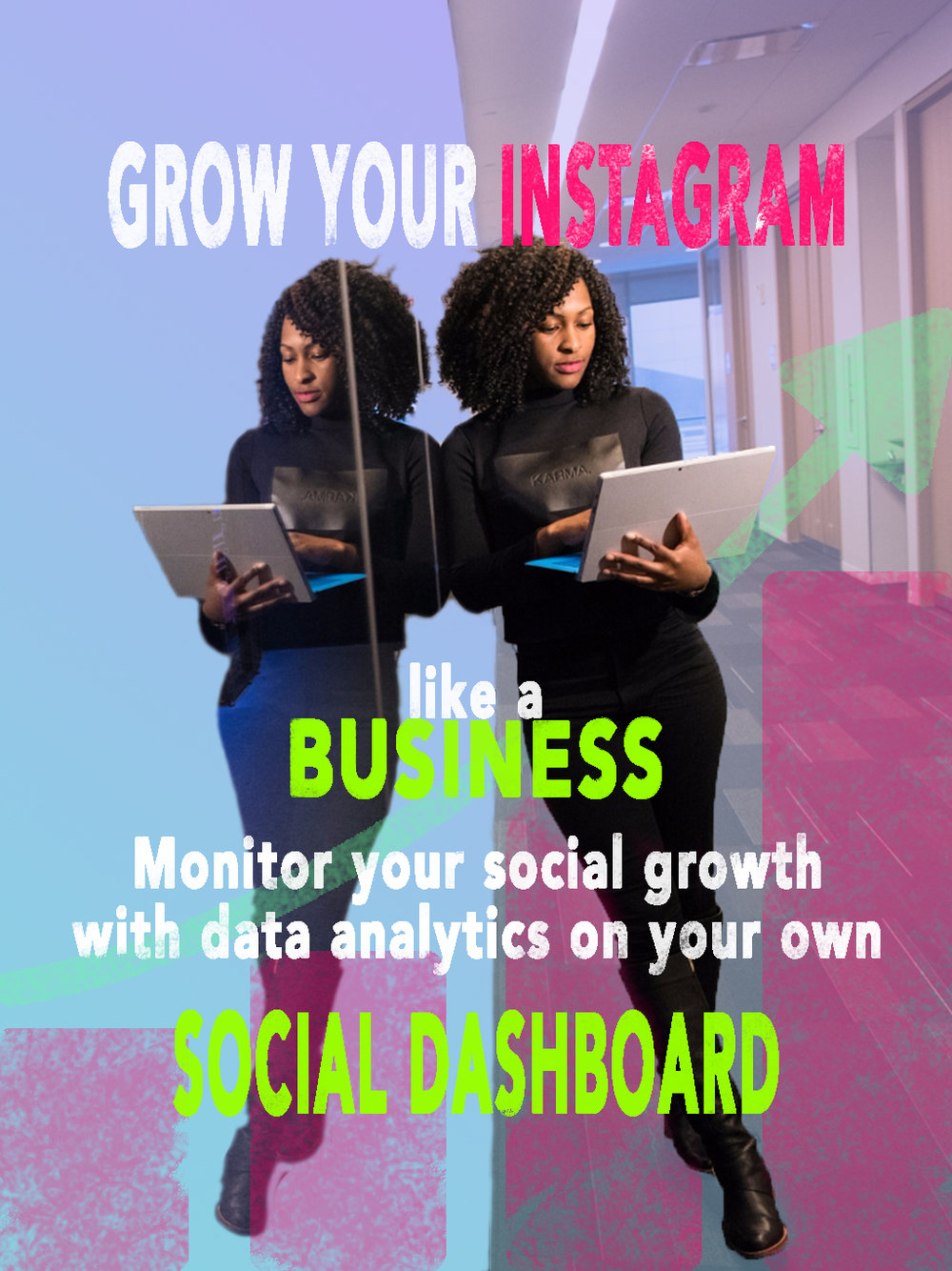 Grow your Instagram like a Business on Instagram, Monitor your results with a professional social growth dashboard.jpg