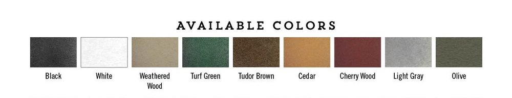 Classic Collection    *These colors cannot be combined, must choose one color for entire piece.