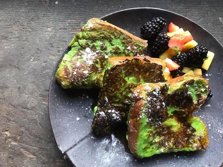 Pandan French Toast