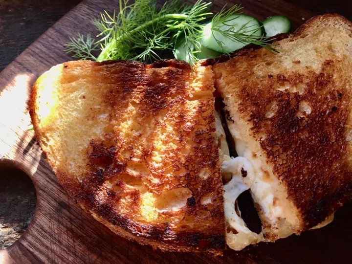 Sambal Grilled Cheese