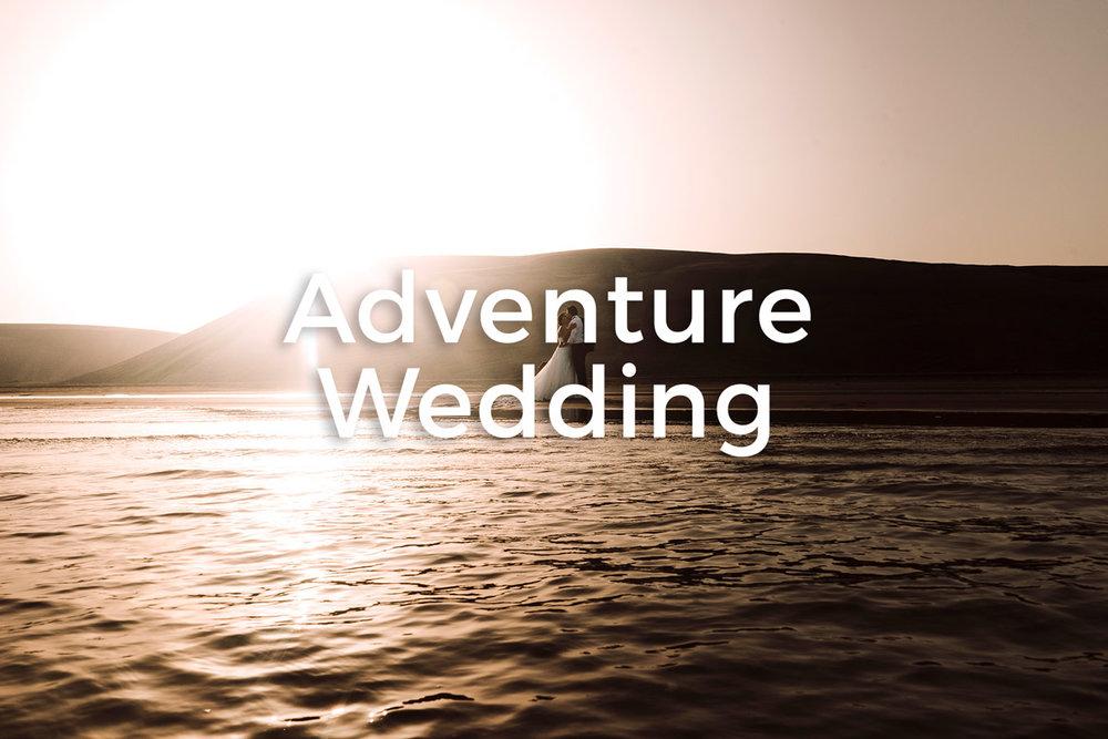 Bodas destino, bodas de aventura, viajes de boda