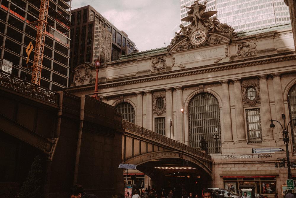 Grand Central por fuera.