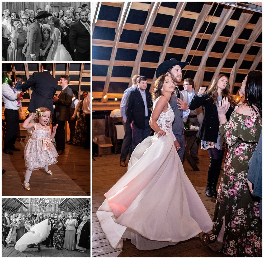 And then we partied and I think it's clear that everyone had the BEST time, just look at that flower girl's moves!
