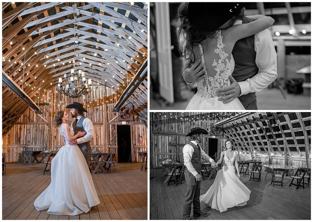 Allison & John Adam opted to finish their day with a secret last dance - while everyone went outside to line up and light sparklers, we stayed behind with them to capture these incredibly sweet moments!