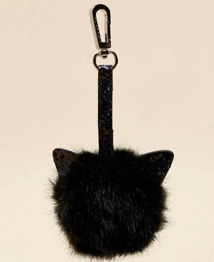 Cat Pom Bag Charm / $12