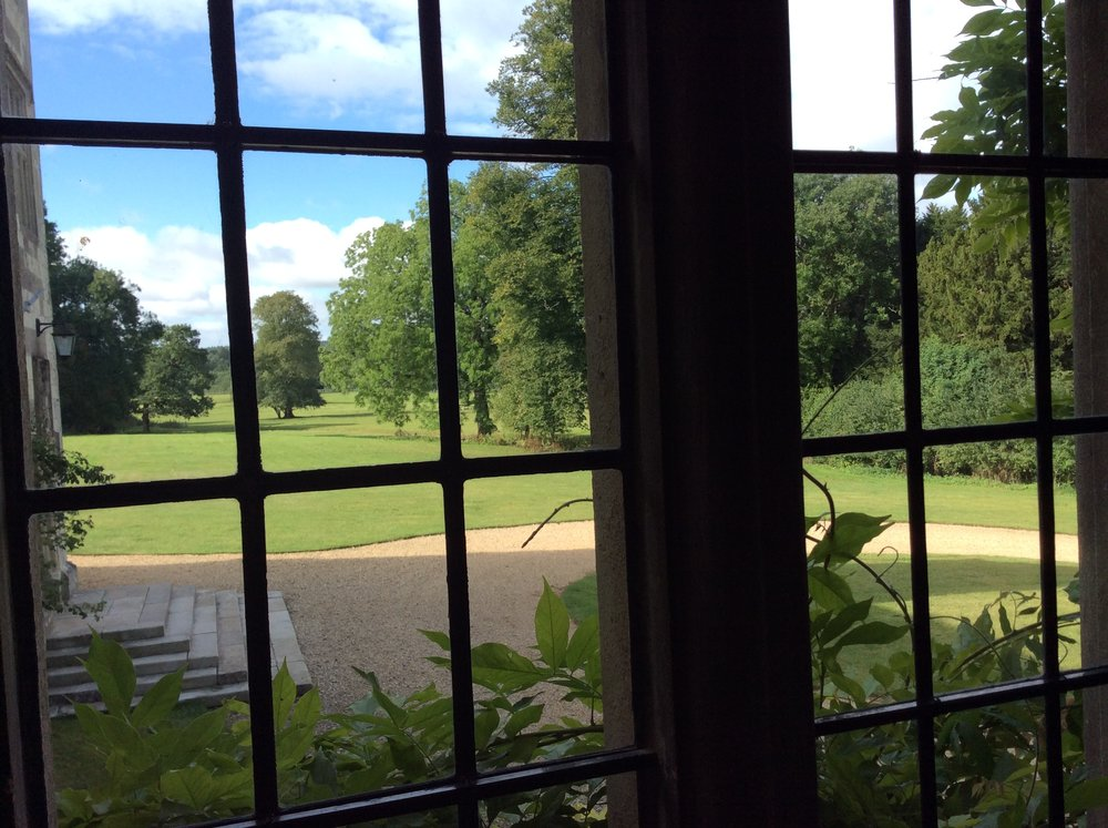 The view from the dining room window  Image: Julia B Grantham
